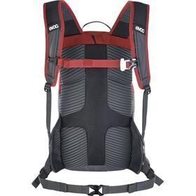 EVOC Ride 12 Backpack 12l + 2l Bladder, chili red/carbon grey